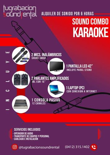 sonido eventos, fiestas