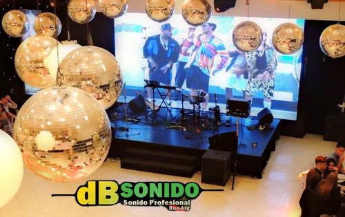 sonido fiestas eventos servicio