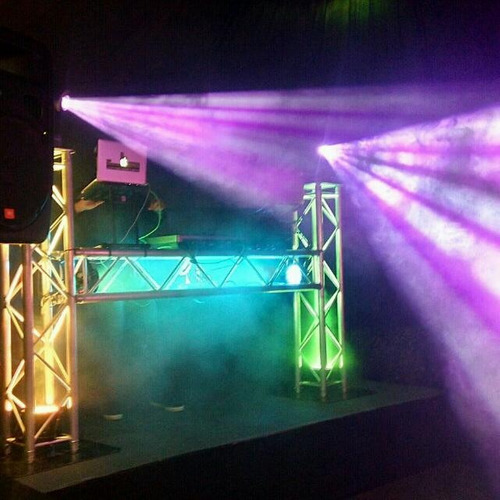 sonido iluminacion fiesta