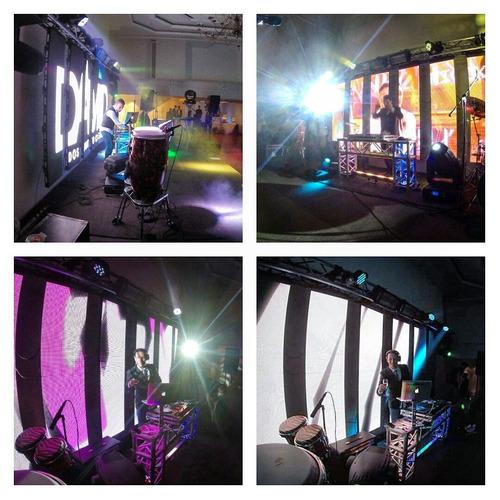 sonido iluminación fiesta evento