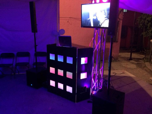 sonido, iluminacion, fiestas