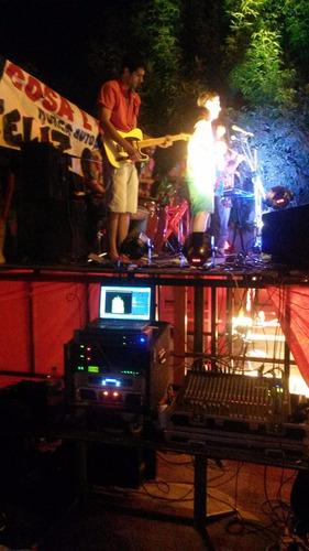 sonido iluminacion fiestas eventos djs