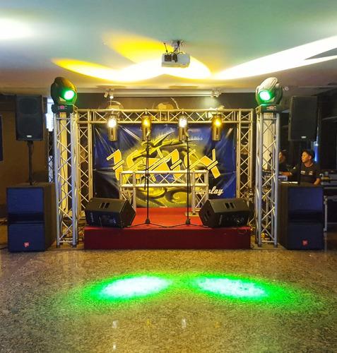 sonido, iluminación, luces led, pantalla led, shows grupos