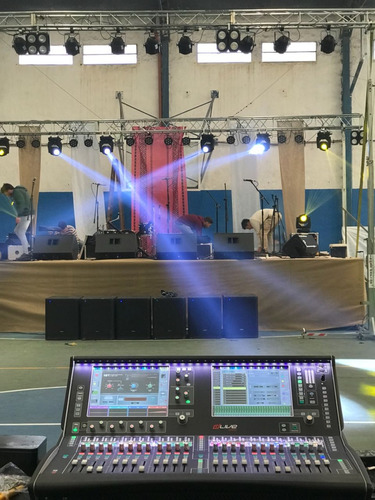 sonido - iluminación - pantallas led