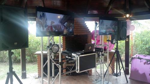 sonido miniteca discplay karaoke rumbas festejo