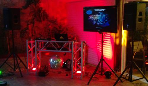 sonido musica miniteca karaoke alquiler venta truss dj fiest