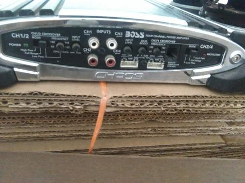 sonido para carro (2bajo kicker12 )2medios 1planta boss