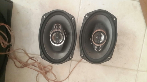 sonido para carro pionner+bajo+planta spl 4 canales