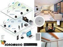 sonido para casas, edificios, iglesias , locales ,discotecas