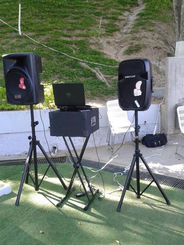 sonido para fiestas y carrito de perros calientes fiestero!.