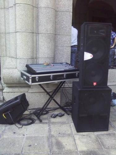 sonido profesional para todo tipo de eventos