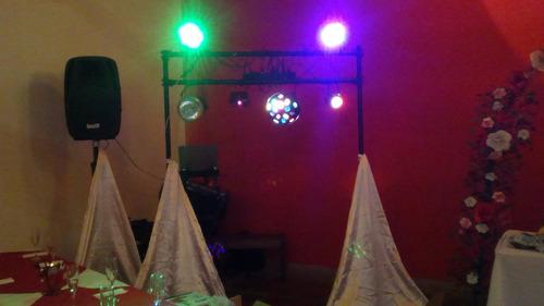sonido y luces