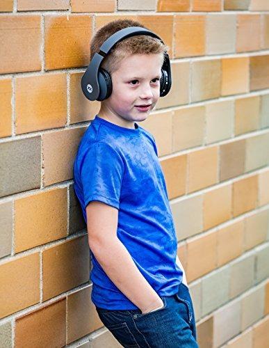 sonixx btx1 auriculares bluetooth para niños (gris)