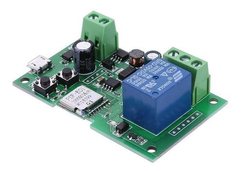 sonoff 12v pulso wifi via celular abertura portão automático