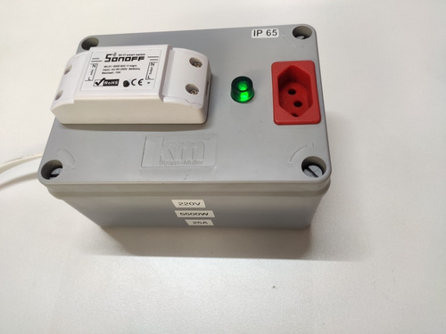 sonoff 220 volts 5500 watts 25 amperes