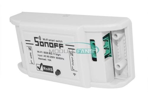 sonoff basic interruptor inteligente wifi domotica