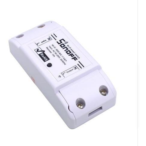 sonoff basic wifi smart switch  domotica alexa , google home