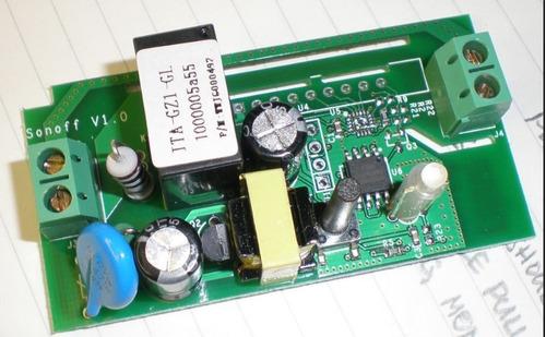 sonoff domotica wifi relay c/ interruptor