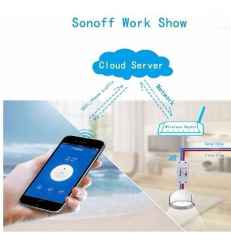 sonoff interruptor wifi - automação residencial
