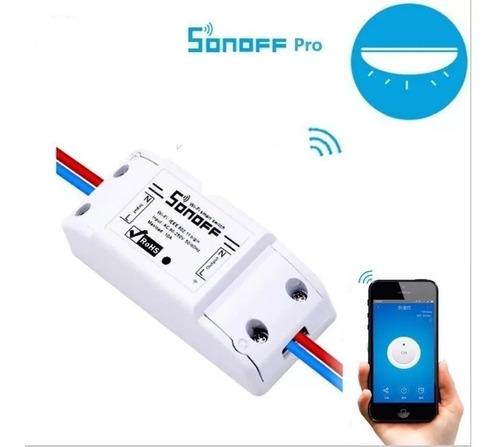 sonoff interruptor wifi basico 220v - domotica