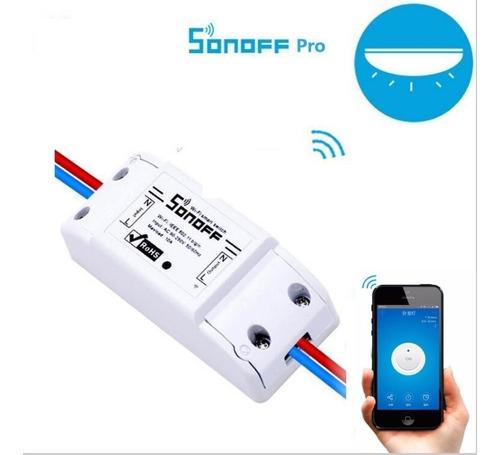 sonoff interruptor wifi basico 220v - domotica electrocom