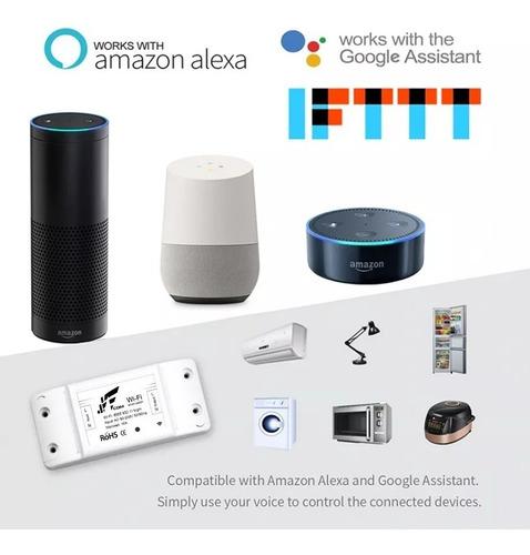 sonoff jwcom smart interruptor wifi  residencial google home
