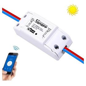 Sonoff Smart Switch 220v  Domotica Relay Wifi App Oferta