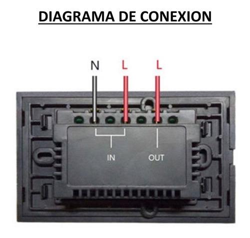 sonoff teclado / llave touch  wifi 1 canal -electrocom-