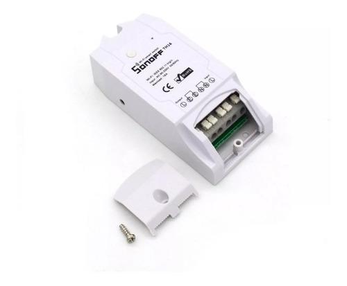 sonoff th16 contacto seco + sensor humedad y temperatura