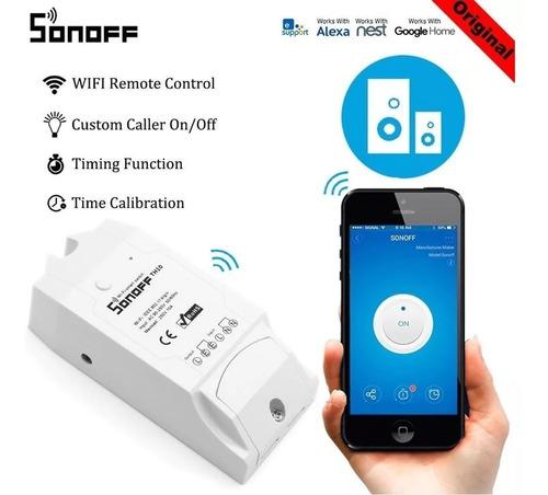 sonoff th16 cronotermostato wifi - contactacto seco relé