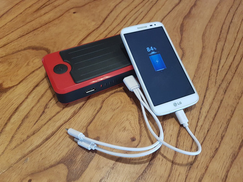 sonomax powerall arrancador portatil auto moto lancha cel