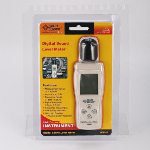sonómetro decibelimetro medidor de ruido sonido 30-130 dba
