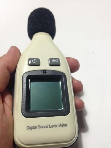 sonometro, medidor ruido, nivel sonido.seguridad industrial.