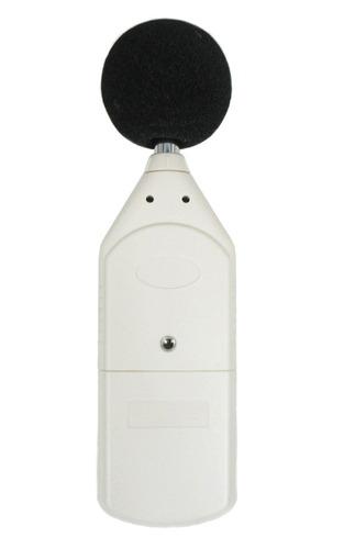 sonometro o decibelimetro profesional con estuche y baterias