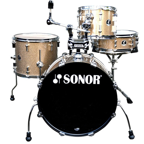 sonor bateria profesional gold galaxy sparkle sse 14 players