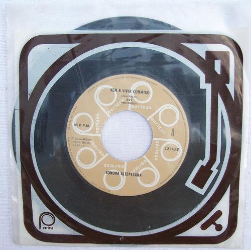 sonora altepexana. disco s.p. peerless 1984