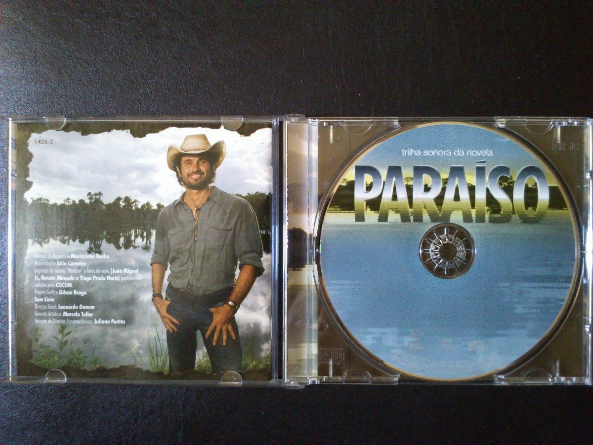 cd trilha sonora da novela paraiso