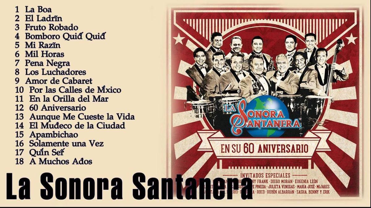 Sonora Santanera 60 Aniversario Cd + Dvd - Bs. 3.500,00 en Mercado Libre