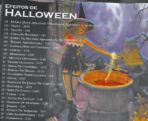 sons de efeito - halloween