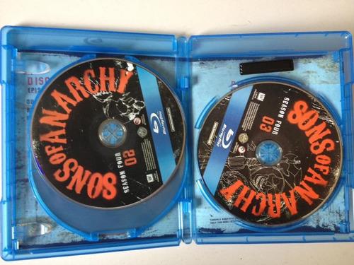 sons of anarchy quarta temporada blu ray (3 discos)