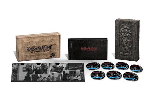 sons of anarchy: seasons 1-6 [blu-ray] edición de colección