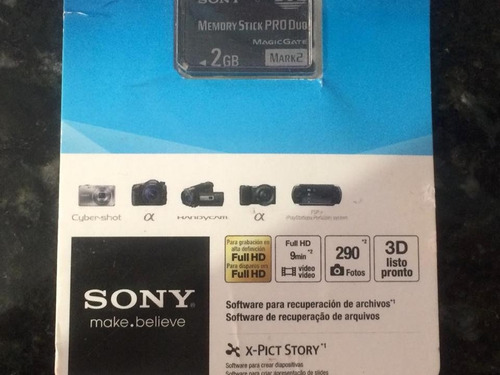 sony 2gb memory stick