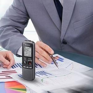 sony 4gb px series mp3 grabadora de voz ic digital con micro