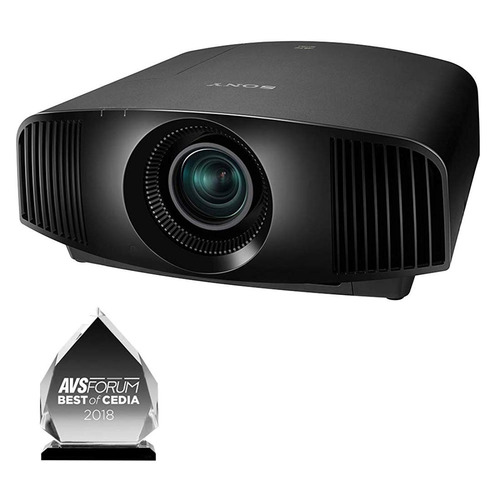 sony 4k hdr home theater video projector vplvw295es