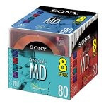 sony 80minute minidisc md color  up shop