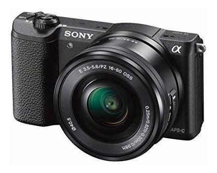 sony a5100 cámara digital sin espejo de 16-50 mm con lcd aba