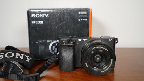 sony a6300 e-mount camera with aps-c sensor ilce-6300 power