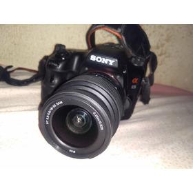 Sony A65 Lente 18-55 5k Cliks Caixa E Acessórios