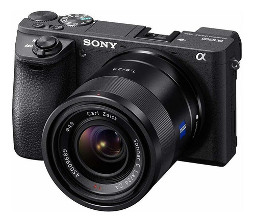 sony a6500 - cámara sin espejo con lente de 2.165-8.268i