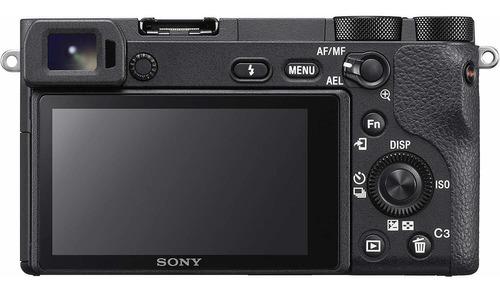 sony a65004k digital sin espejo cuerpo de la cámara ilc